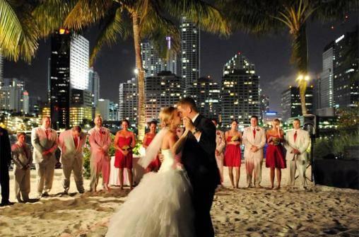 Бракосочетание в Майами